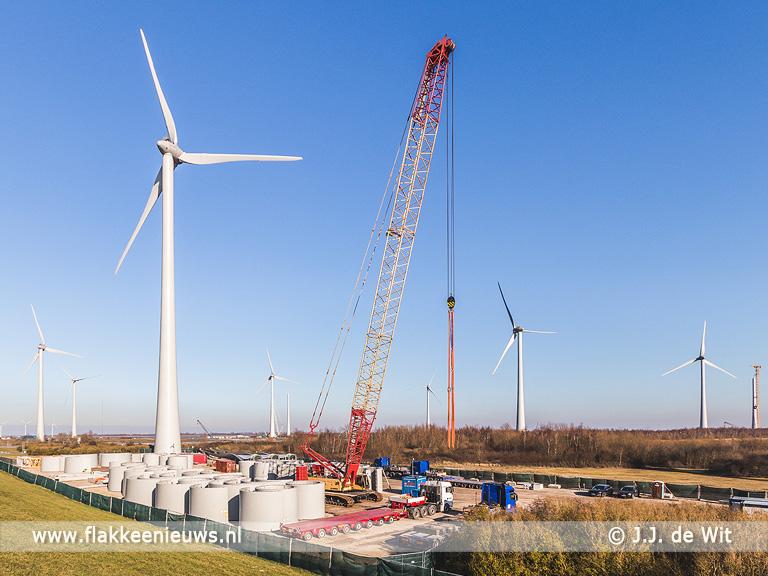 Foto behorende bij Investeren in windpark Krammer binnenkort mogelijk