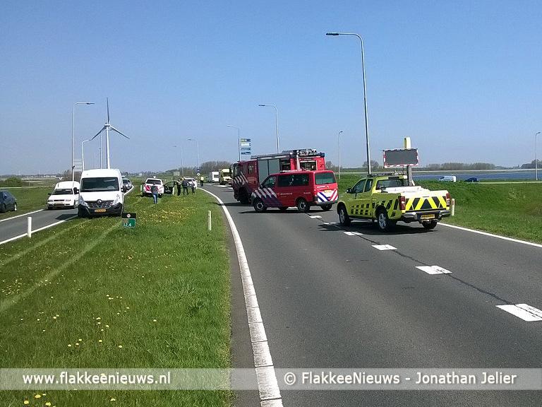Foto behorende bij Vertraging op N59 vanuit Zeeland door ongeval