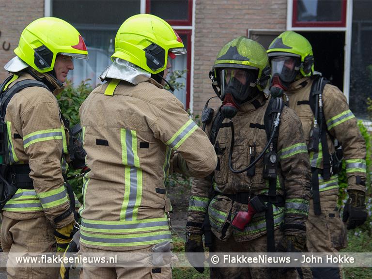 Foto behorende bij Brand in woning Achthuizen aangestoken