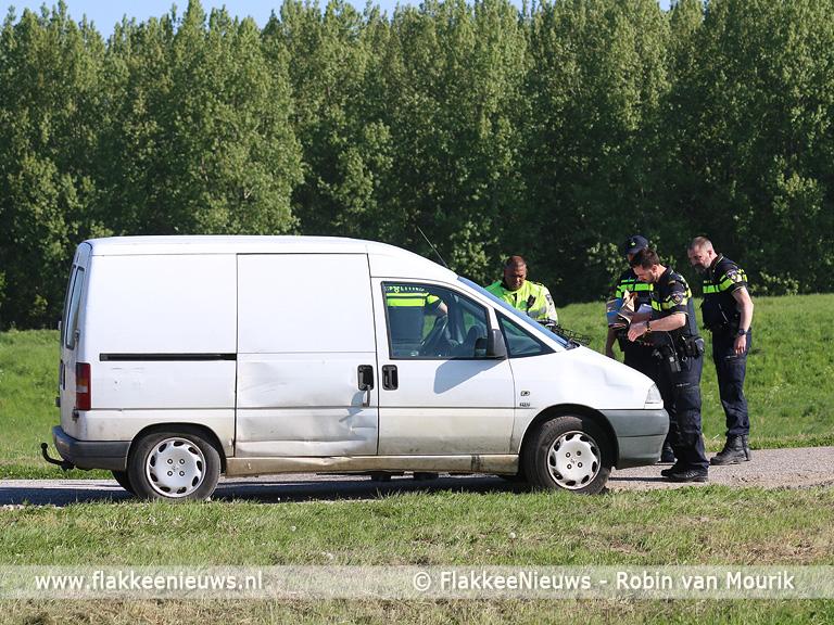 Foto behorende bij Ongeval met busje en fietser bij Nieuwe-Tonge