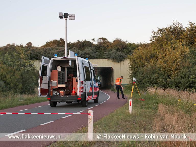 Foto behorende bij Twee motorrijders om het leven gekomen bij Hellegatsplein