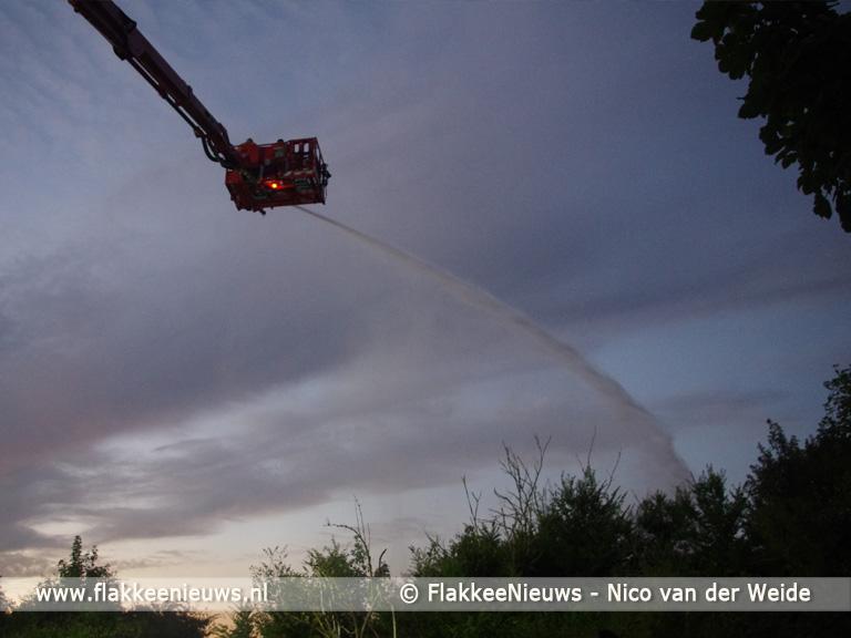 Foto behorende bij Brandweer rukt uit voor duinbrand bij Goedereede
