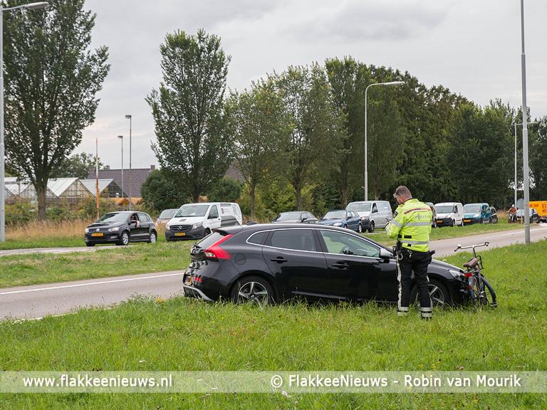 Foto behorende bij Scholiere aangereden op Staverseweg Sommelsdijk
