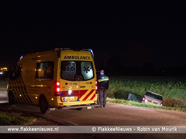 Foto behorende bij Brommobiel in de sloot bij Sommelsdijk