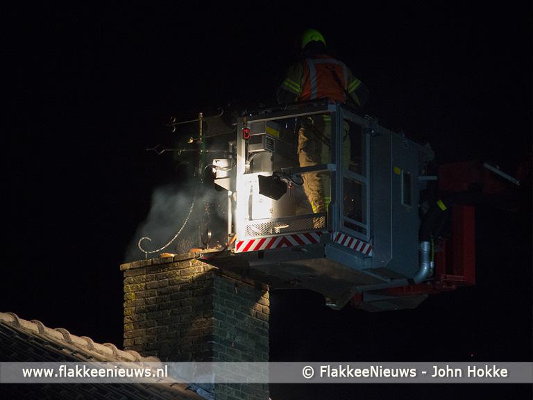 Foto behorende bij Schoorsteenbrand in Ooltgensplaat