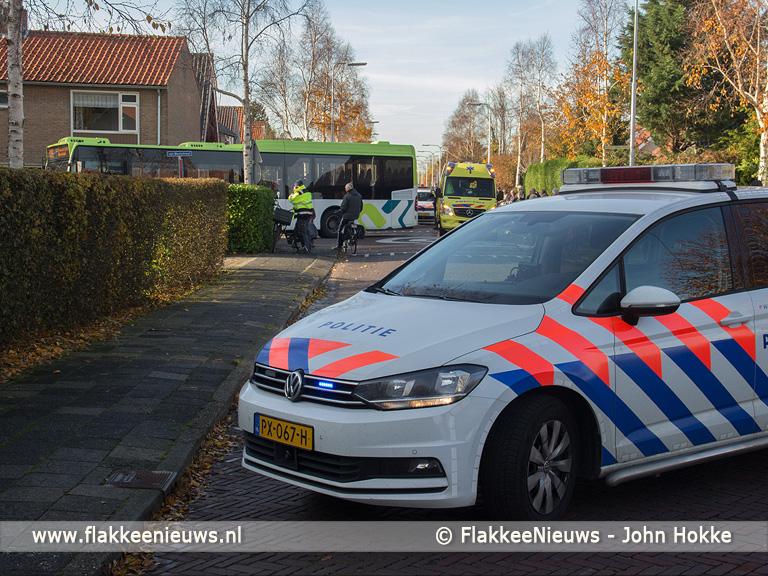 Foto behorende bij Jongen gewond bij aanrijding met bus in Ooltgensplaat