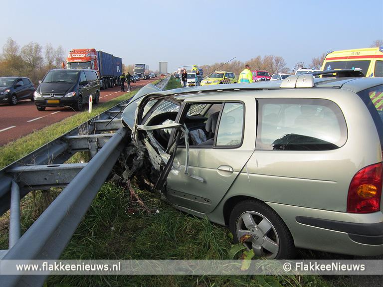 Foto behorende bij Ongeval met beknelling op N59 Hellegatsplein