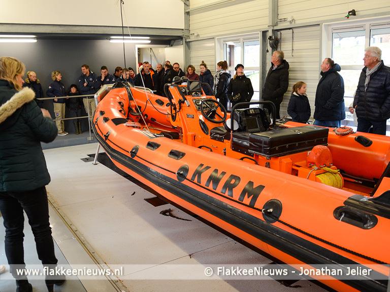 Foto behorende bij Nieuw boothuis KNRM Ouddorp officieel geopend