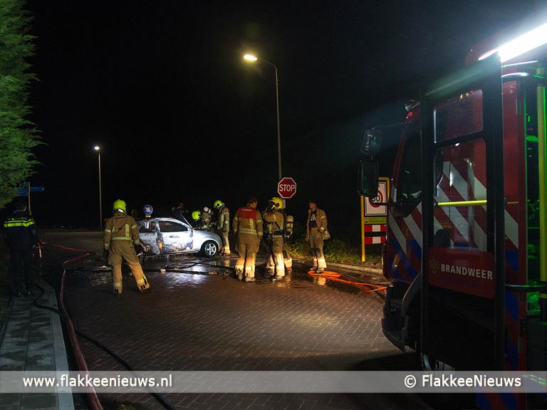 Foto behorende bij Auto in vlammen op in Melissant