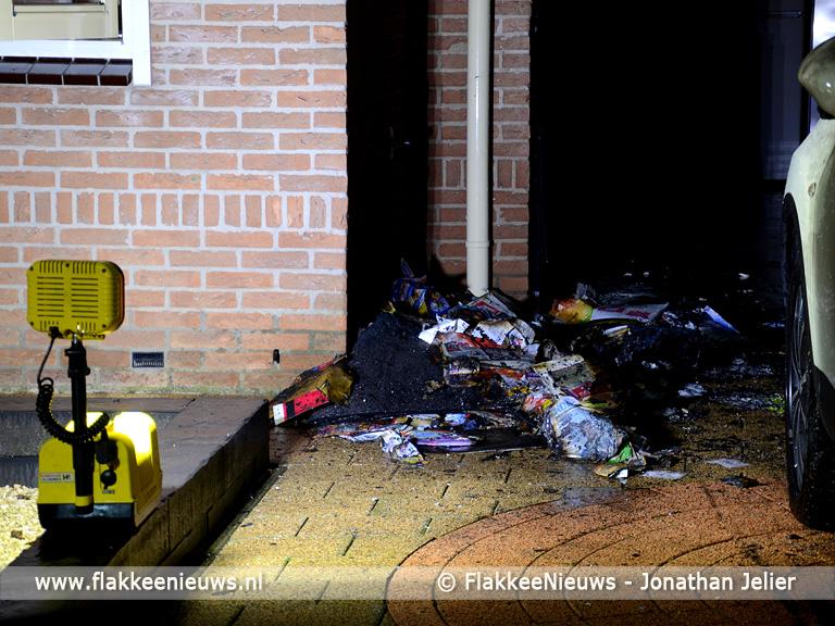 Foto behorende bij Brand in garage in Stellendam