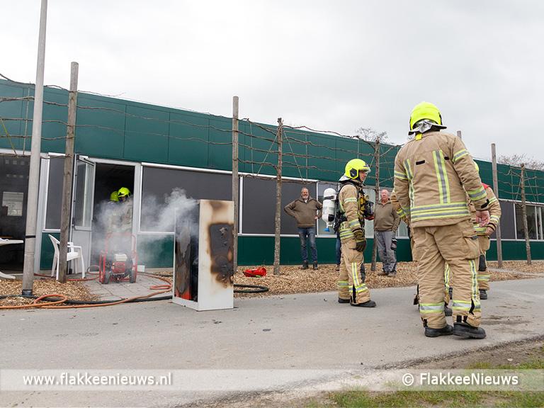 Foto behorende bij Kleine brand snel onder controle op Hernesseroord