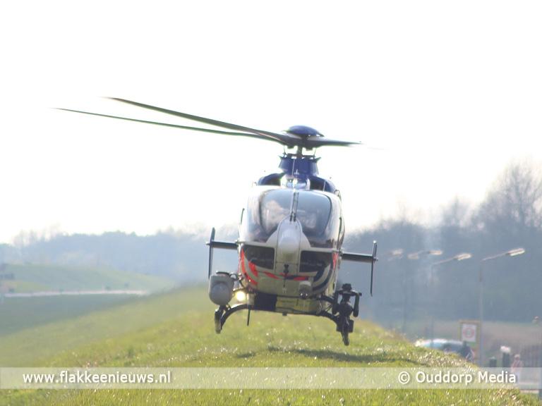 Foto behorende bij Twee doden bij ongeval N57 Ouddorpse Haven