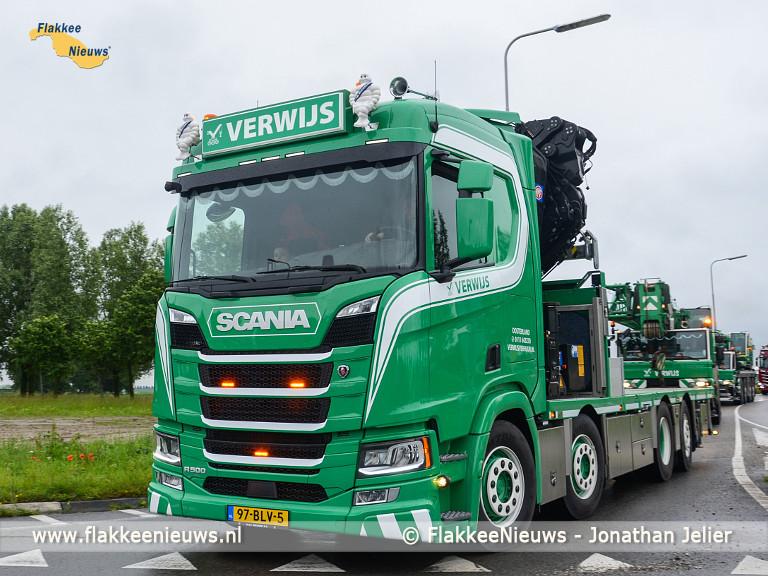 Foto behorende bij Honderden blije gezichten tijdens Truckrun 2019