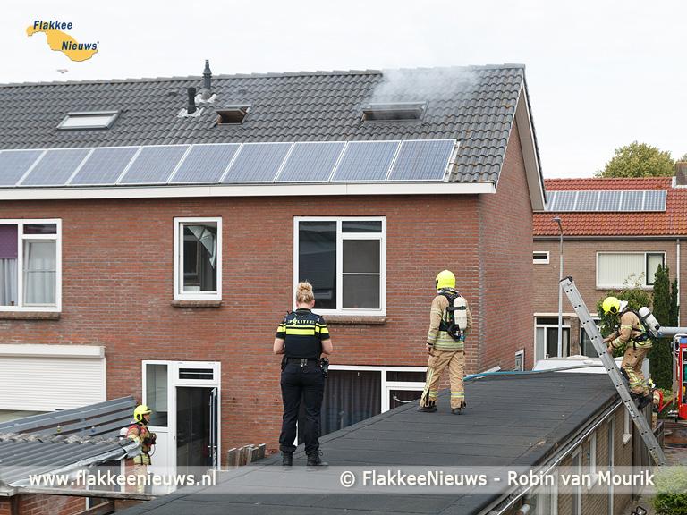 Foto behorende bij Woningbrand in Stad aan