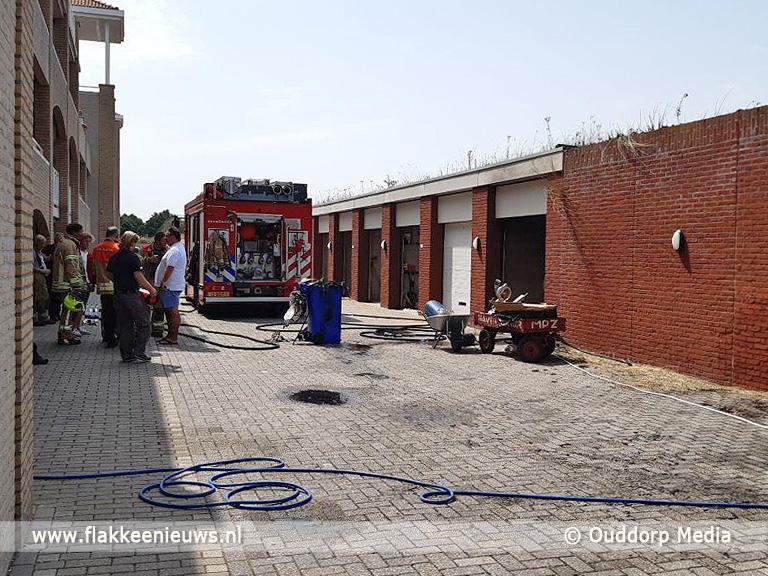 Foto behorende bij Brandweer rukt uit voor natuurbrand