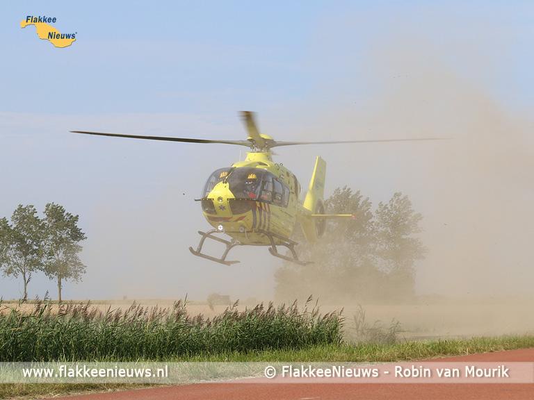 Foto behorende bij N57 tussen Goedereede en Ouddorp afgesloten vanwege ongeval