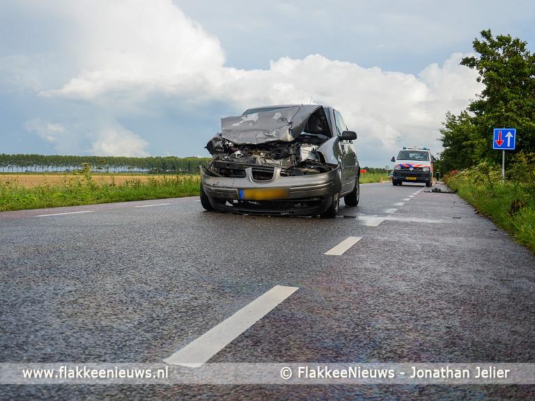 Foto behorende bij Persoon gewond bij aanrijding Plaatweg Stellendam
