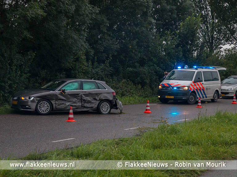 Foto behorende bij Ongeval met twee auto