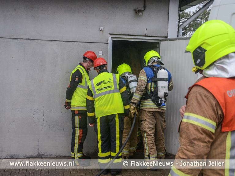 Foto behorende bij Ooltgensplaat eerste bij eilandelijke brandweerwedstrijden