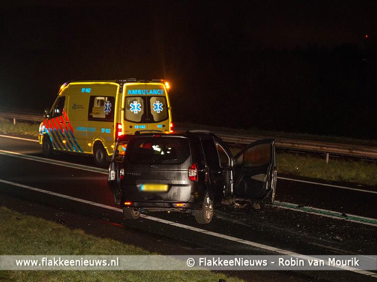 Foto behorende bij N59 Hellegatsplein uren afgesloten wegens ongeval