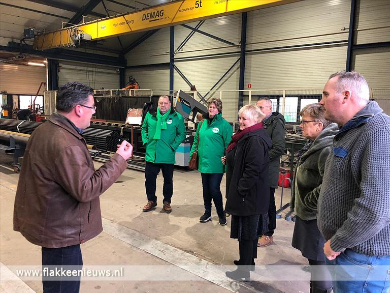 Foto behorende bij CDA op bedrijfsbezoek in Ouddorp en Nieuwe-Tonge