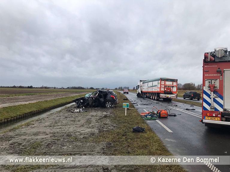 Foto behorende bij Dodelijk slachtoffer bij ongeval Achthuizen