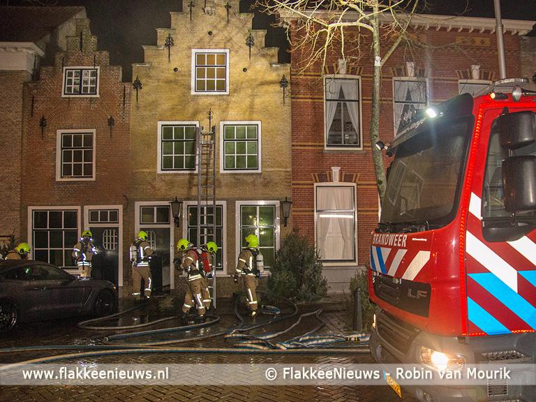 Foto behorende bij Gebouwbrand Voorstraat Middelharnis
