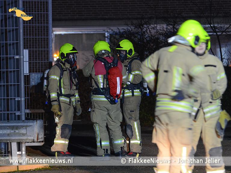 Foto behorende bij Brandweer rukt uit voor lekkende opslagtank