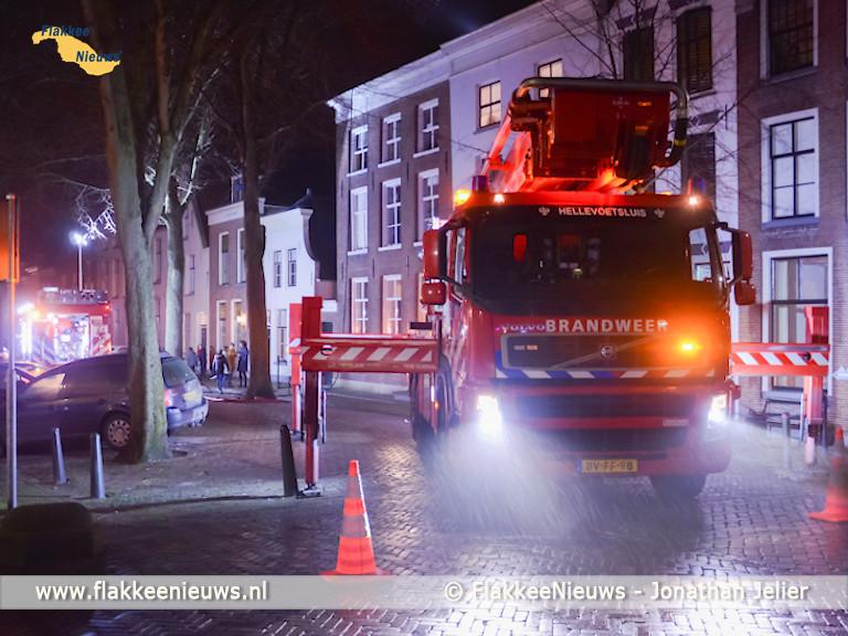 Foto behorende bij Schoorsteenbrand in Sommelsdijk