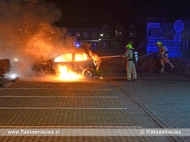 Foto behorende bij Politie zoekt brandstichter(s)