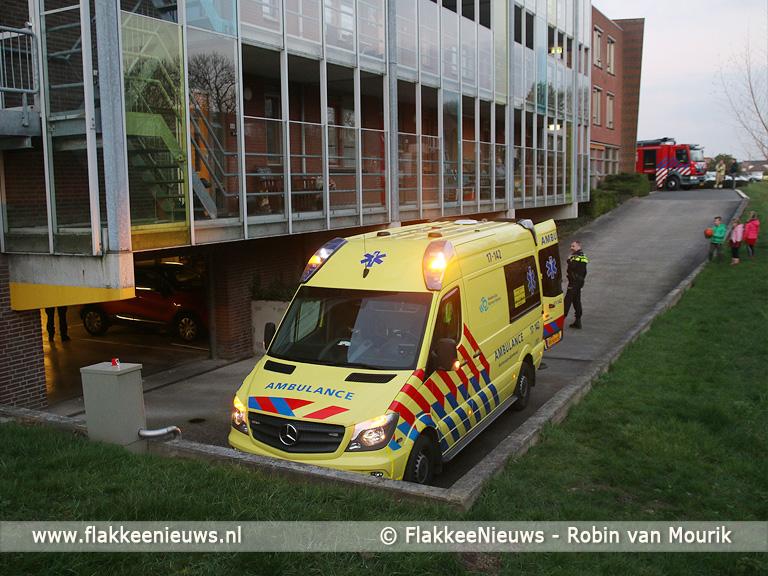 Foto behorende bij Aanrijding in parkeergarage Sommelsdijk
