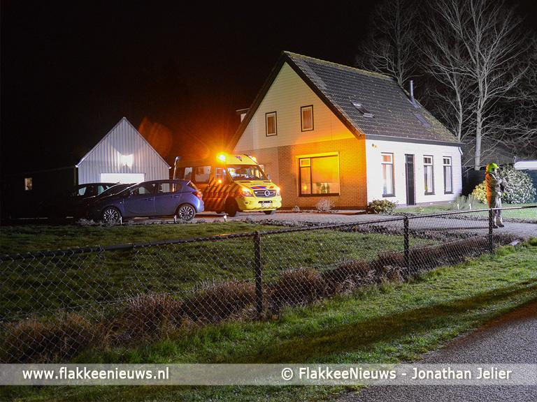 Foto behorende bij Tieners gewond bij ontploffing in schuur Melissant