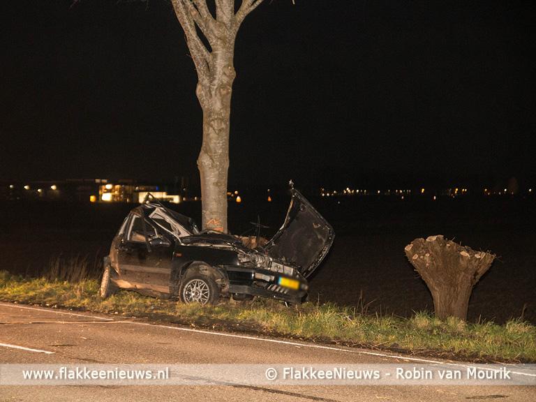 Foto behorende bij Ernstig eenzijdig ongeval Dirksland