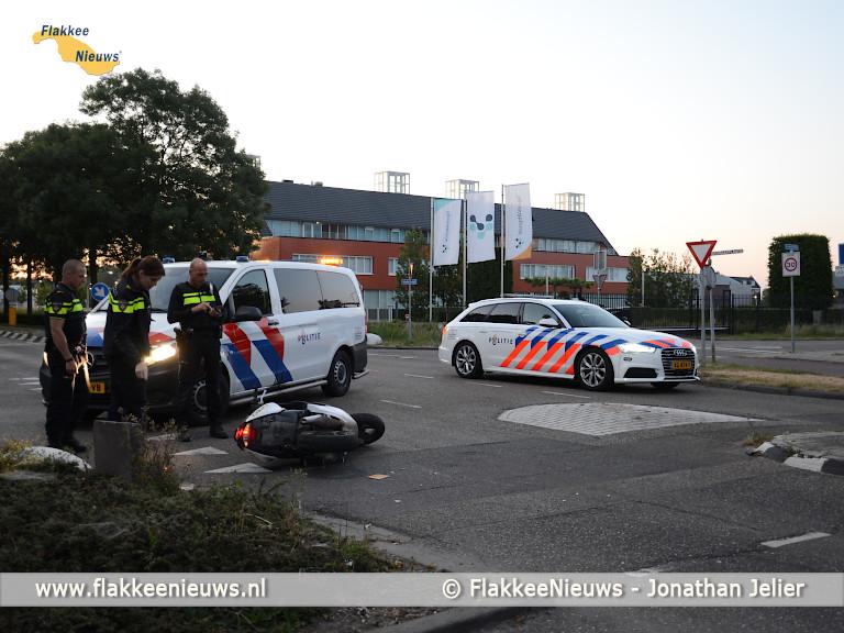 Foto behorende bij Traumaheli vliegt voor ongeval met scooter