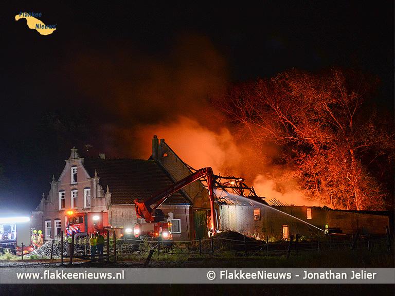 Foto behorende bij Grote brand in Den Bommel