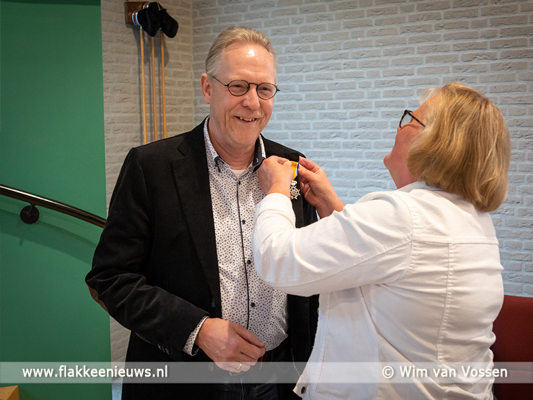 Foto behorende bij Koninklijke onderscheiding voor Johan Butijn uit Ooltgensplaat