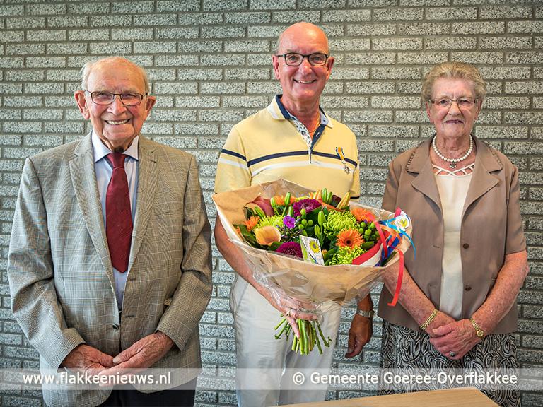 Foto behorende bij Koninklijke onderscheiding voor Wim Polder uit Dirksland
