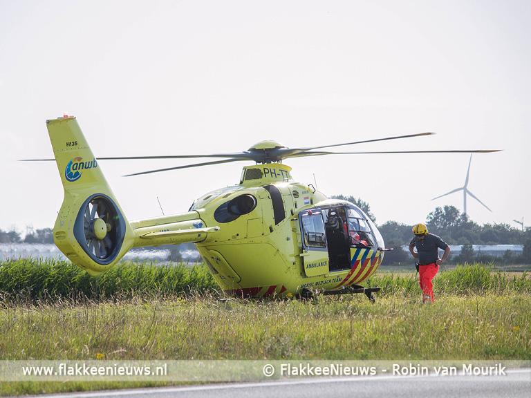 Foto behorende bij Twee gewonden bij ongeval op N59