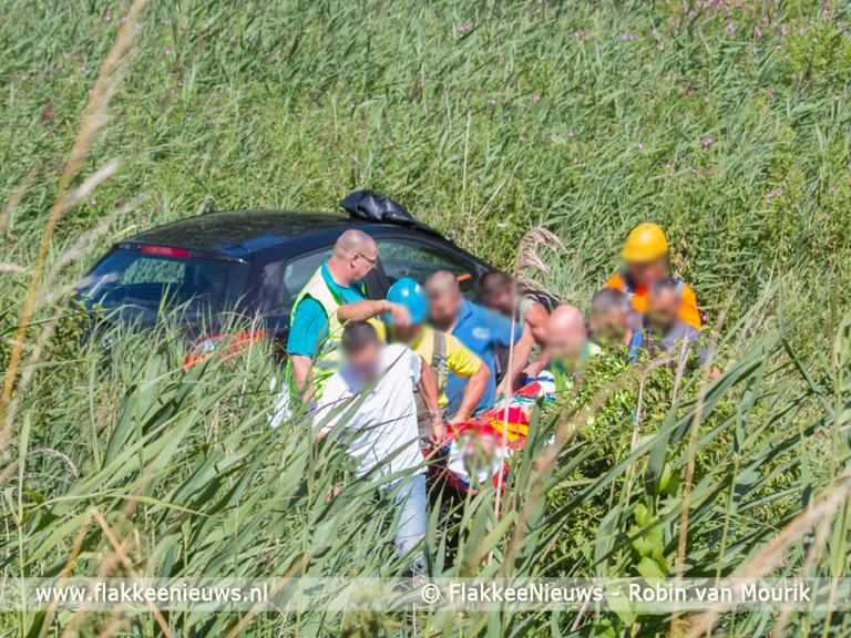 Foto behorende bij Bouwlieden schieten te hulp bij ongeval