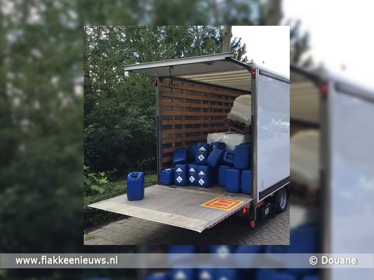 Foto behorende bij Douane verwachtte rode diesel maar vond XTC grondstoffen