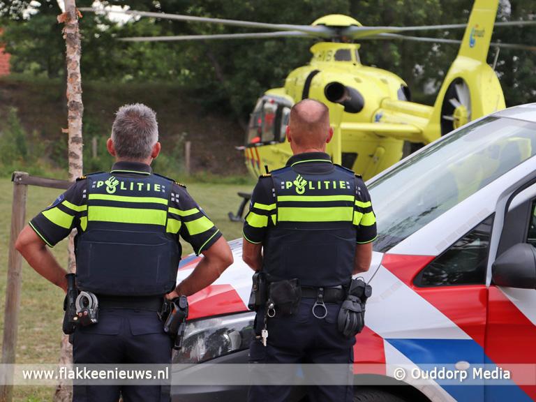 Foto behorende bij Glazenwasser ernstig gewond in Ouddorp