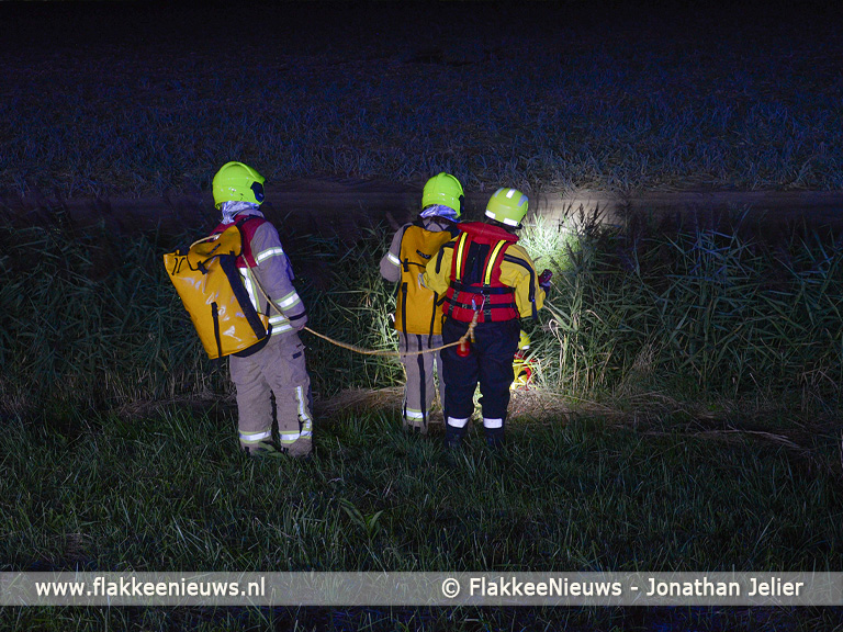 Foto behorende bij Dodelijke slachtoffers bij ongeval in polder Dirksland