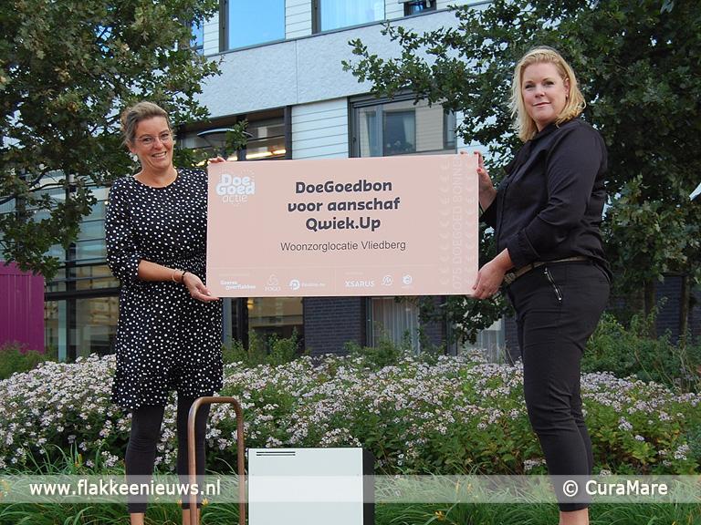 Foto behorende bij Mooie schenkingen voor welzijn bewoners De Vliedberg