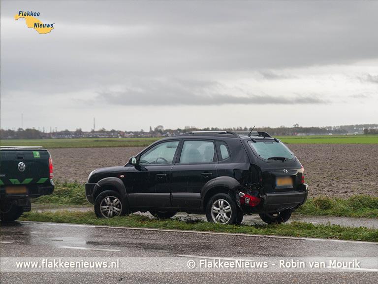 Foto behorende bij Ongeval op Oudelandsedijk Dirksland