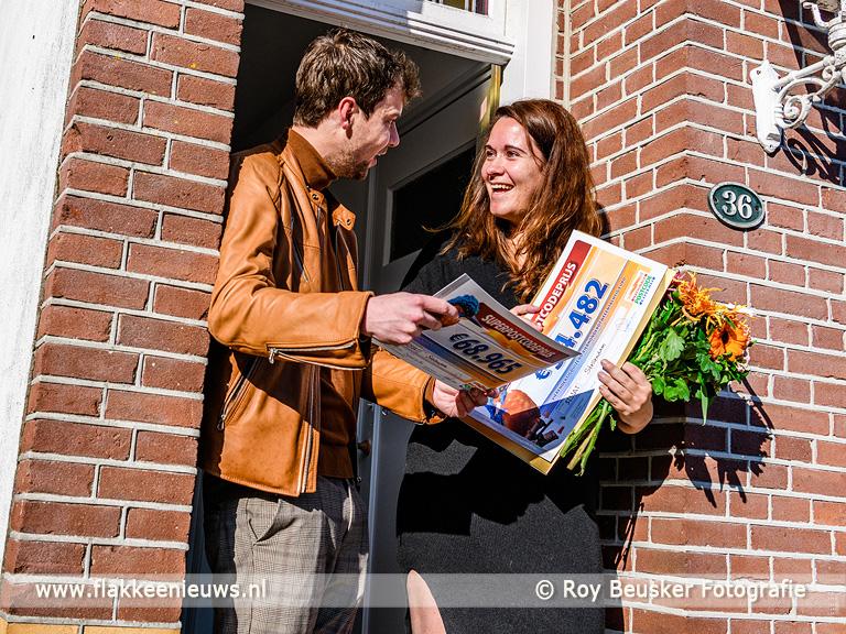 Foto behorende bij Stellendammers winnen 1 miljoen euro in Postcode Loterij
