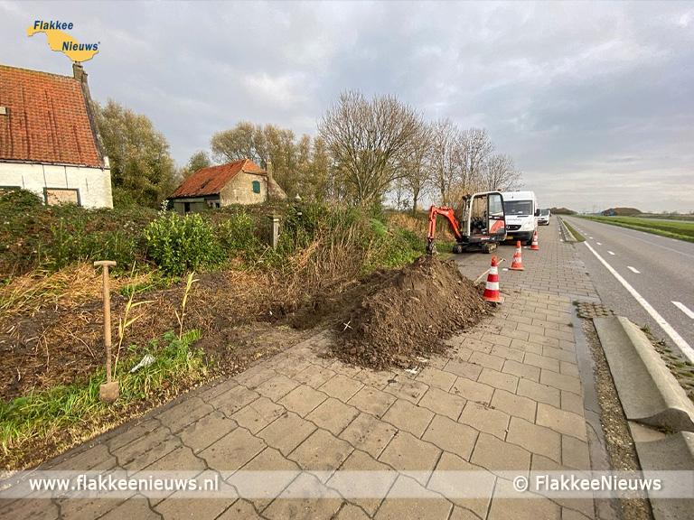 Foto behorende bij Bijzondere vondst tijdens graafwerkzaamheden bij Den Bommel