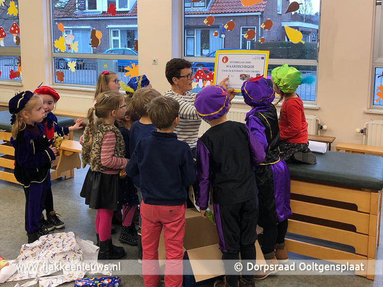 Foto behorende bij Waarde cheque met Sinterklaas