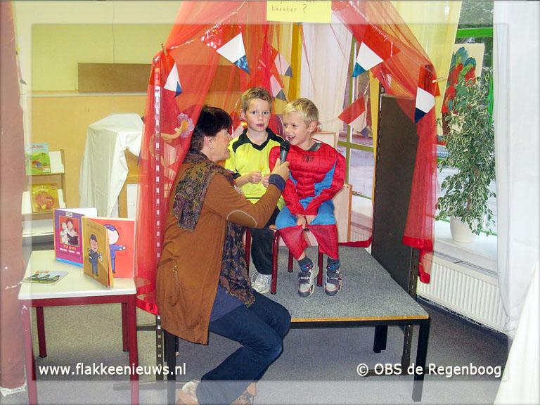 Foto behorende bij Superhelden bij OBS De Regenboog