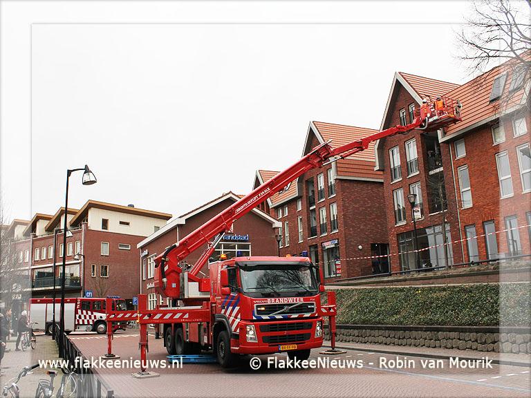 Foto behorende bij Brandweer assisteert bij stormschade