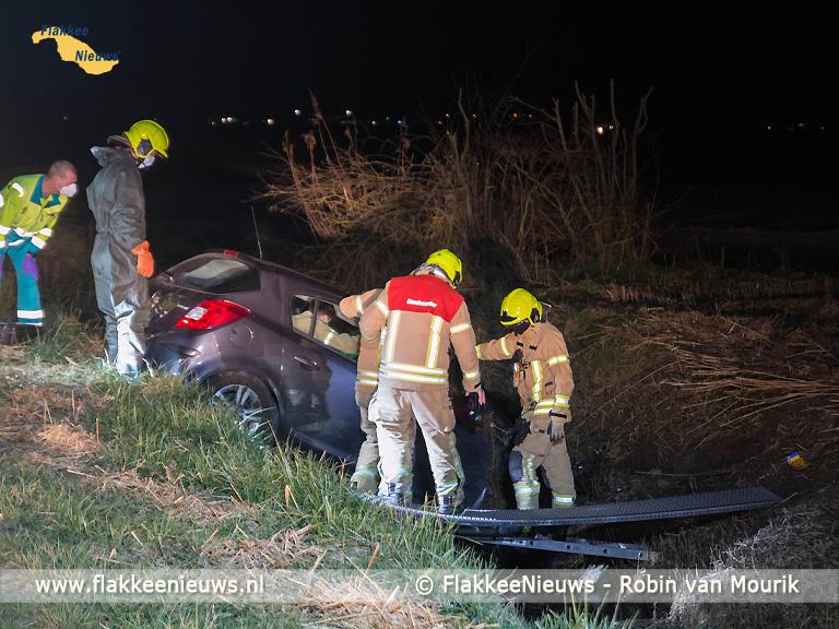 Foto behorende bij Zwaargewonde bij eenzijdig ongeval Sommelsdijk